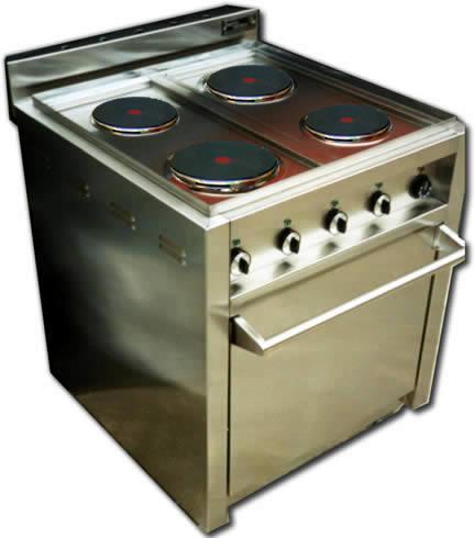 Cocinas electricas con horno incorporado muebles de cocina for Cocinas electricas con horno